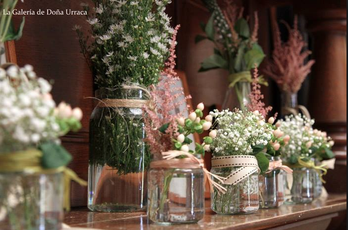 Quiero una boda rustico chic vintage los secretos de marga - Decoracion vintage chic ...